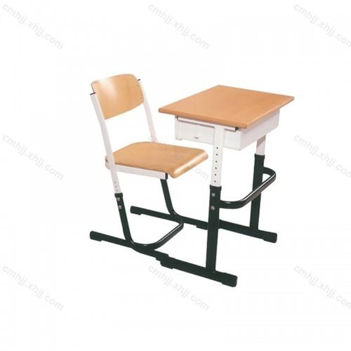 学校学生培训课桌椅02