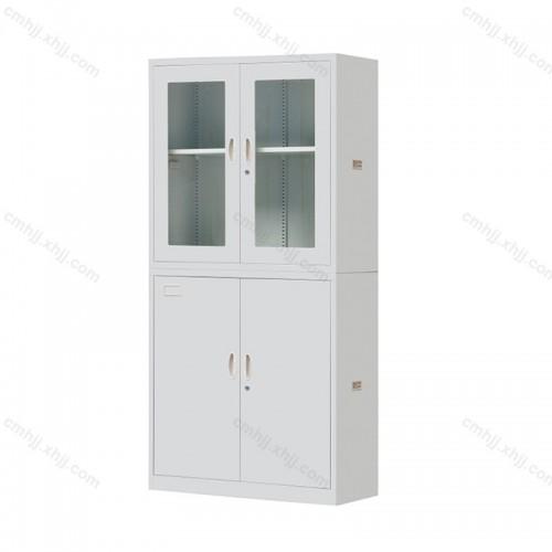 钢制玻璃档案柜文件柜HT-202