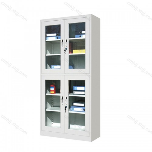 分体玻璃门办公文件柜 HT-204