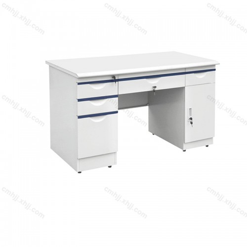 钢制防火板办公桌 HT-2140