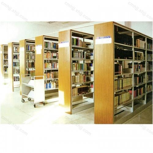 钢制双面图书架书店书架HT-B03
