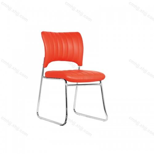 简约培训椅办公钢架椅HY-YZ-602
