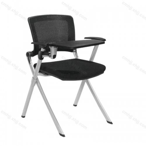 办公折叠椅写字板椅E655