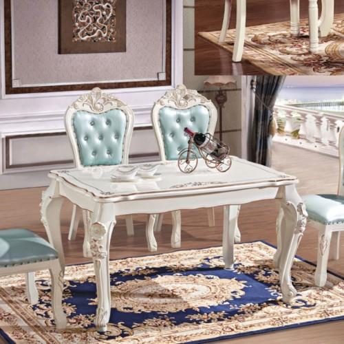 厂家直销欧式餐桌椅组合838