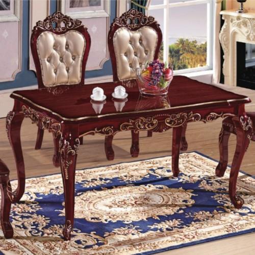 欧式新古典餐桌椅生产厂家 632