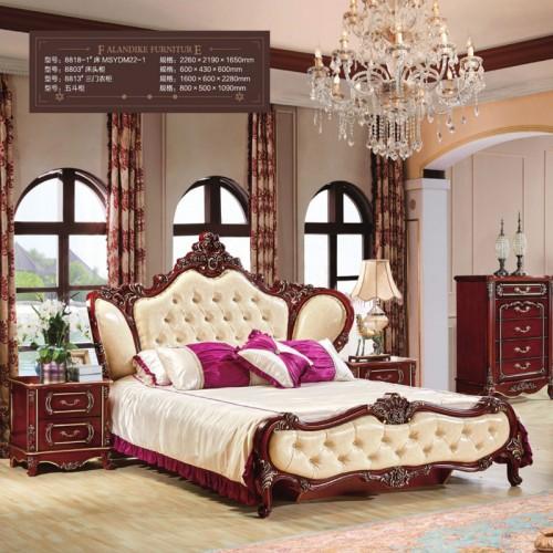 香河法兰蒂克欧式套房家具生产厂家   8818-1