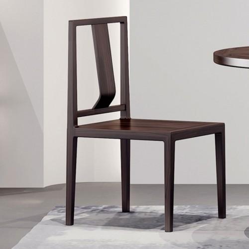 简约设计实木靠背餐椅01