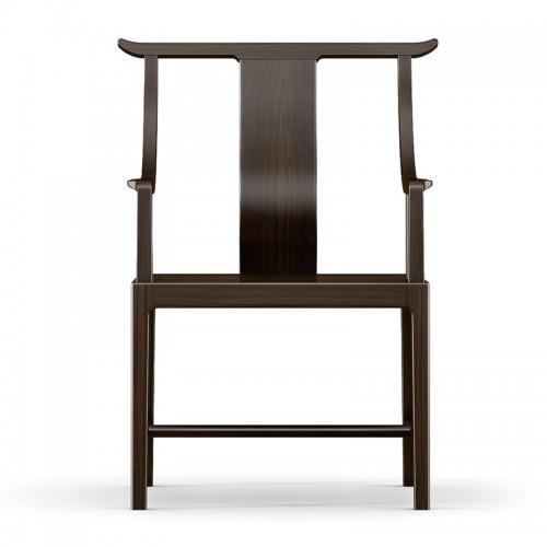 实木禅意书椅太师椅01