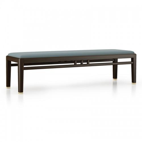 卧室实木床尾凳04