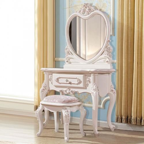 欧式梳妆台梳妆镜厂家直销1801
