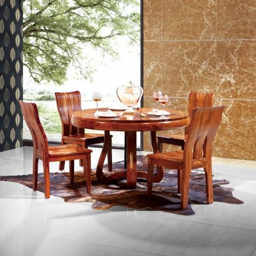 家用餐厅乌金木餐桌椅14