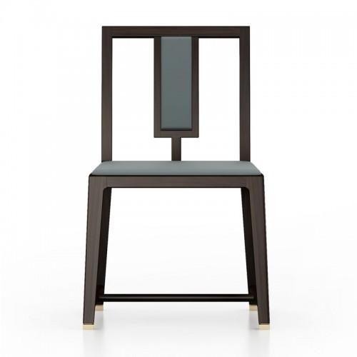 轻奢实木餐厅餐椅05