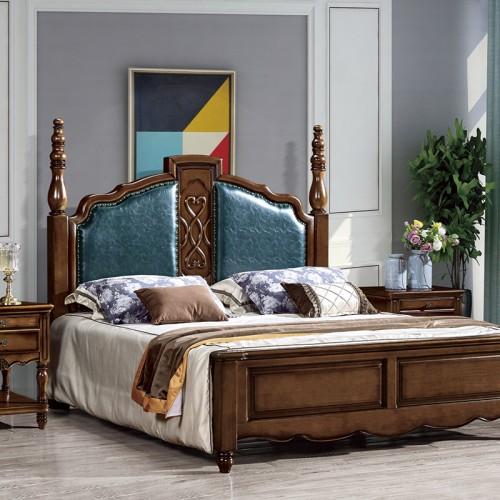 奢华美式古典双人床小美31