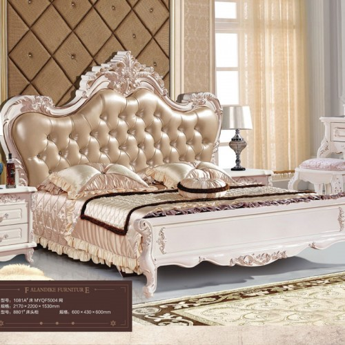 厂家直销欧式双人床套房1081A
