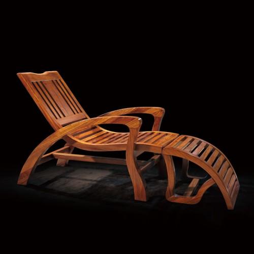 乌金木躺椅睡椅客厅逍遥椅11