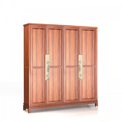 新中式乌金木衣橱衣柜09