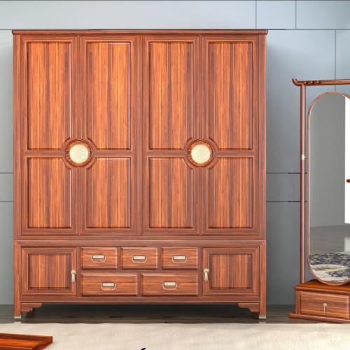 新中式衣柜卧室收纳储物柜10