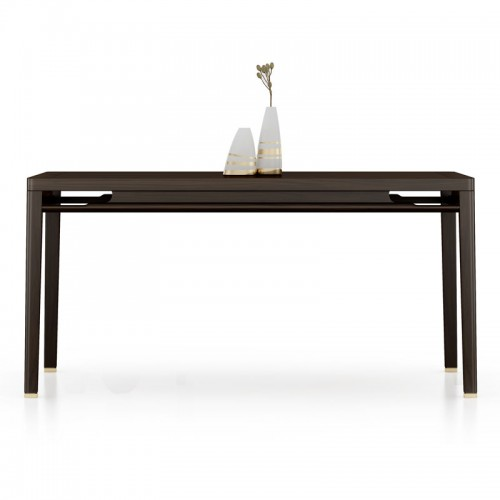 别墅新古典实木餐桌 10