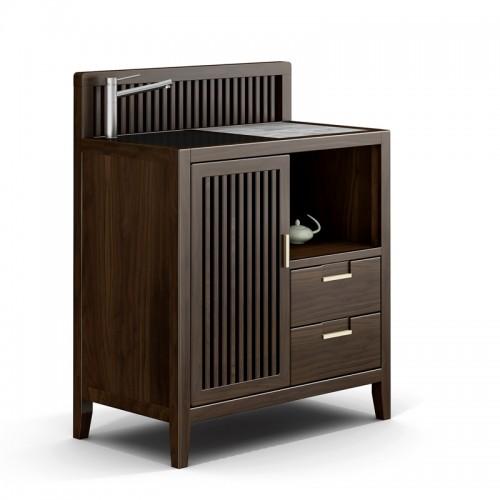 现代简约实木茶水柜11