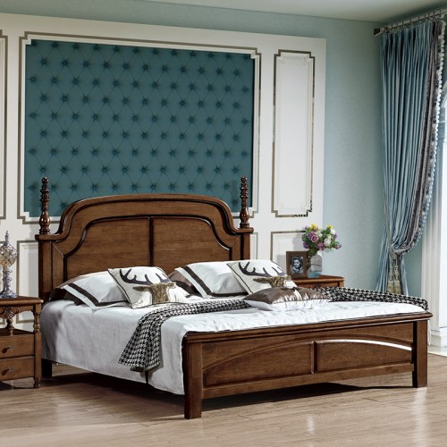 别墅家具美式双人床 小美18