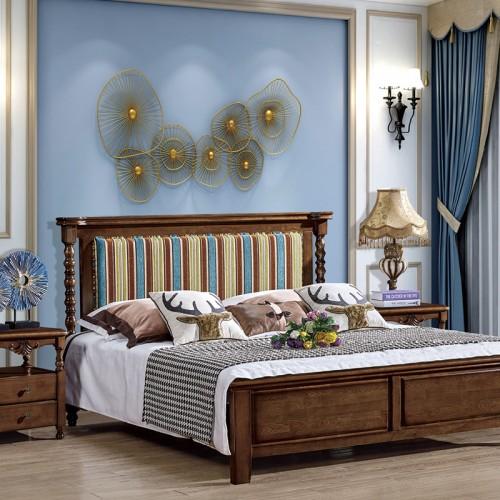 简美现代卧室双人床 小美16
