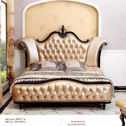 新古典风格家具欧式床双人床23