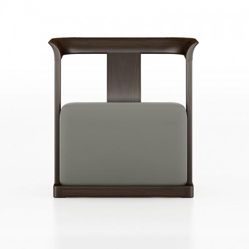 实木简易沙发椅单人休闲椅18