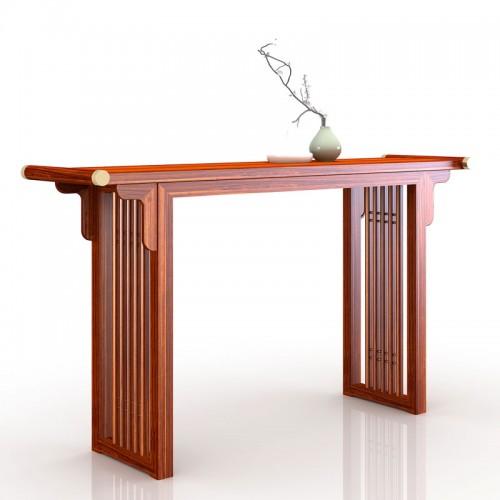 新中式条案实木玄关桌211