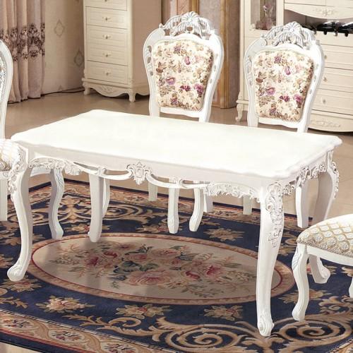 简欧小户型餐厅餐桌椅  41