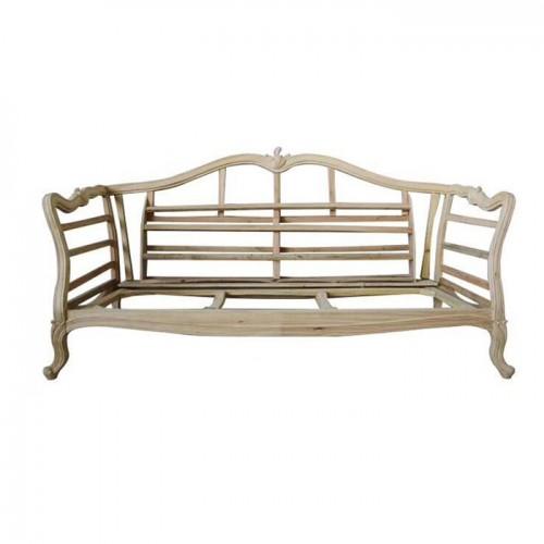 新古典家具轻奢美式沙发白茬02