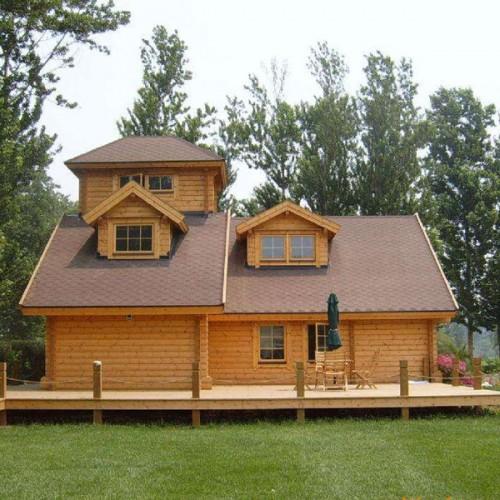定制户外移动小型木屋庭院08
