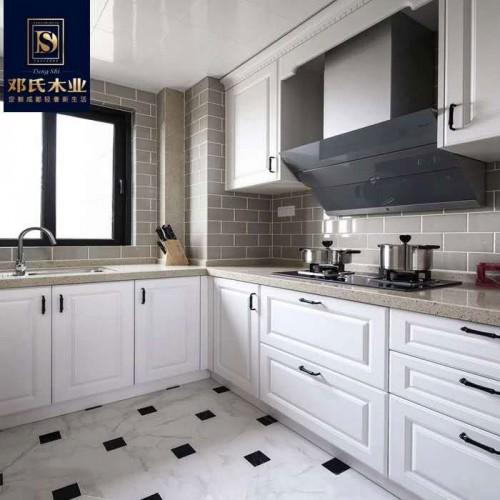 极简风整装厨房柜10