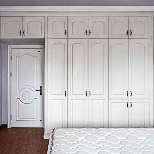 现代极简大容量衣柜 12