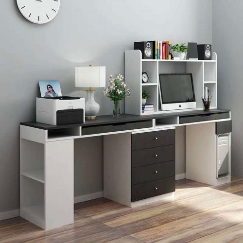 极简黑白办公学习桌 17