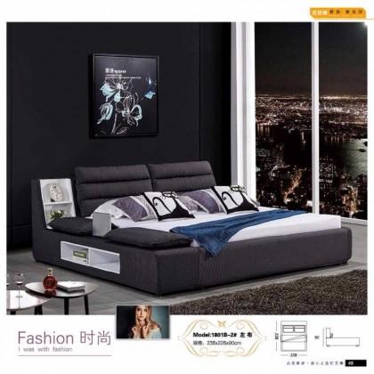 布艺软床,1801B-2