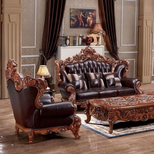 欧式别墅大户型沙发组合805
