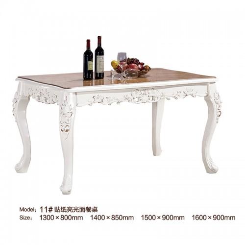 简欧光面餐桌11