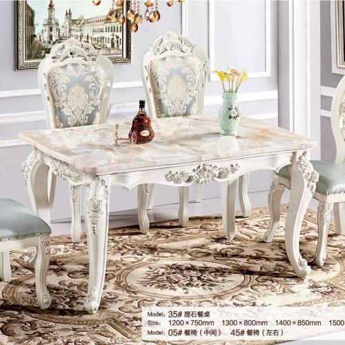 奢华欧式大理石餐桌35