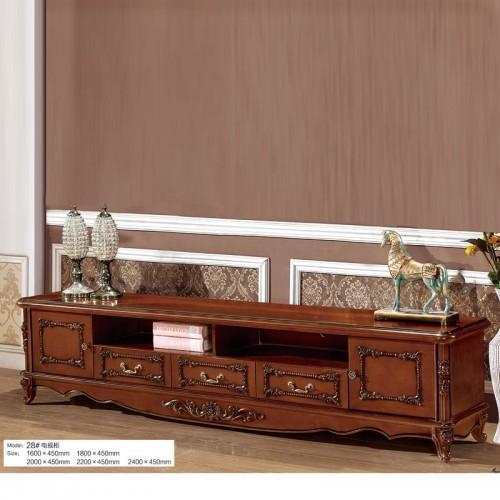奢华中式实木电视柜28