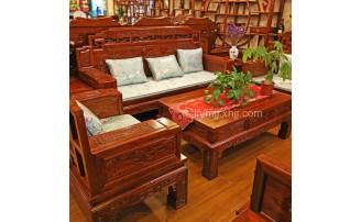 香河领福古典老榆木家具品牌文化