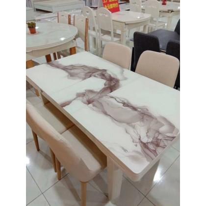 大理石多功能餐桌