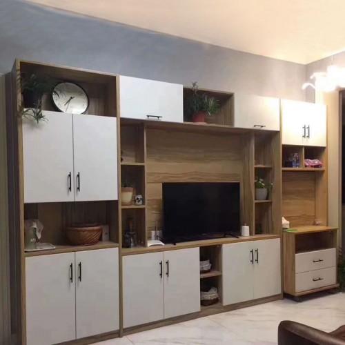 中式实木电视柜45