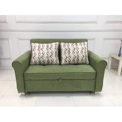 博森博格多功能小户型全钢架两用客厅折叠沙发床