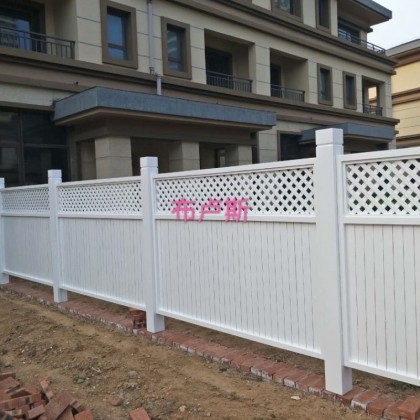 香河碳化木全实木樟松材质围栏隔断白色防腐户外家具室外小院定制