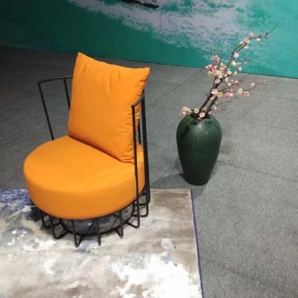 休闲阳台椅(桔黄)