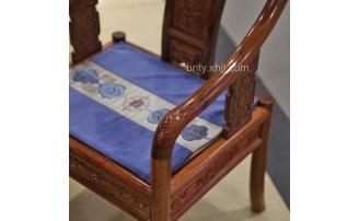 香河百年唐艺刺猬紫檀红木家具精雕细琢