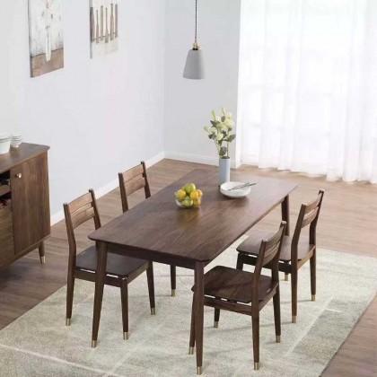 新中式实木餐椅006