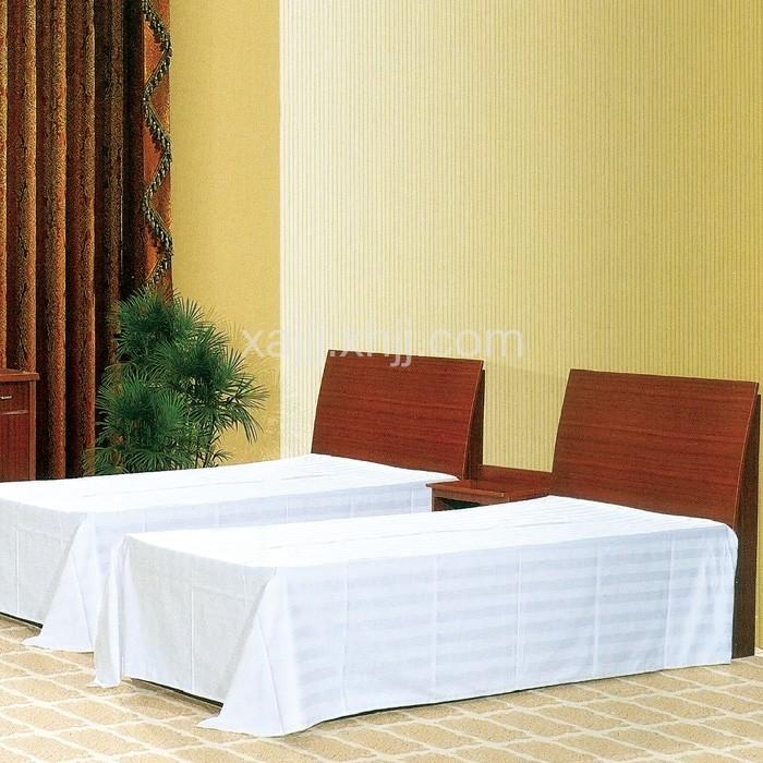 宾馆标准间套房单人床组合01