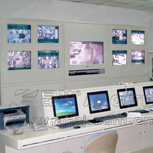 小区监控中心电视墙AT