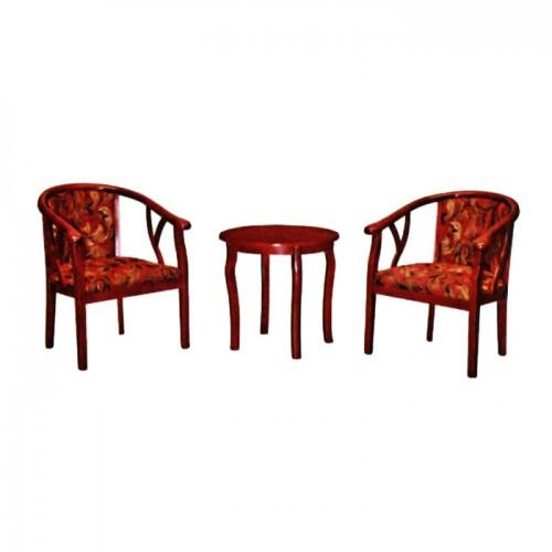 宾馆酒店桌椅三件套B-